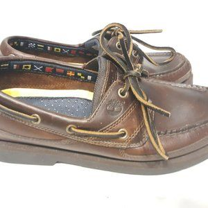 Timberland Men's Size 8m Loafers Boat Shoes Nautic